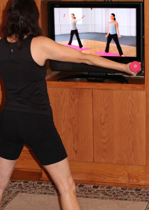 pic -Cathy exercising